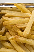Pommes frites in Aluschale