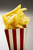 Chips in striped box