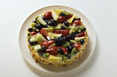 Whole fruit gateau