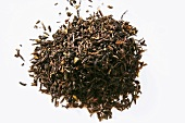 A heap of tea leaves