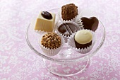 Butlers Chocolates from Ireland, in glass bowl