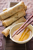 Spring rolls with sweet and sour sauce (Thailand)