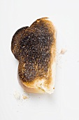 Slice of burnt toast