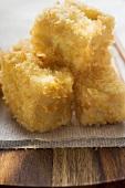 Breaded tofu cubes (Asia)