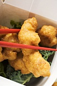Asian chicken nuggets to take away