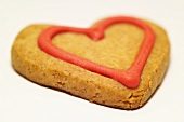 Shortbread cookie for Valentine's Day