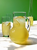 Elderflower and ginger drink