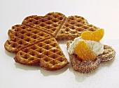 Belgian Tangerine Waffles