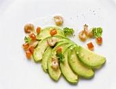 Avocado with North Sea Shrimp