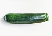 A green courgette