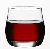 A glass of grape juice