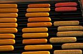 Hot dog sausages