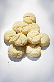Several vanilla biscuits