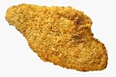 Breaded, deep-fried fish fillet