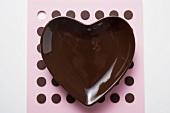 Heart-shaped bowl
