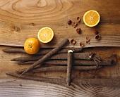 Scorzonera with oranges and hazelnuts