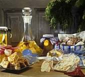 Christmas gifts: baking, jam, liqueur, fig sweets