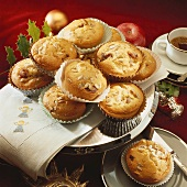 Date and apple muffins for Christmas