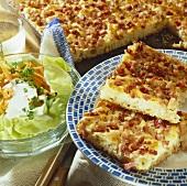 Franconian bacon tart