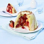 Charlotte-style summer pudding