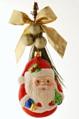 Father Christmas tree ornament
