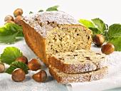 Hazelnut loaf