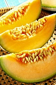 Cantaloupe melon (close-up)
