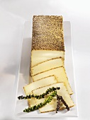 Peppered cheese