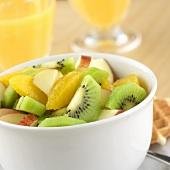 Small bowl of fruit salad