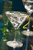 Gin Tini (Cocktail mit Gin und Extra Dry Vermouth)