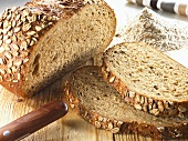 Organic six grain bread