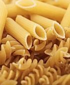 Pasta (Fusilli and penne rigate)