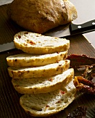 Ciabatta with dried tomatoes