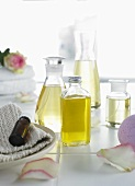 Oils for beauty care