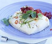 Cod fillet, Thai style