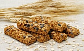 Muesli bars with chocolate chips