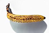 An overripe banana