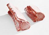 Pork loin for chops