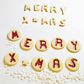 MERRY XMAS biscuits
