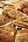 Variety of Flat Breads
