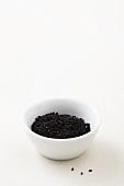A bowl of black cumin