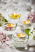 Spring Table Tea Lights