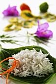Basmati rice with chilli strips