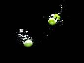 Peas in water