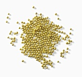 Lots of gold pearls