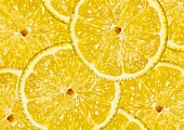 Lemon slices, filling the picture