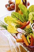Vegetarian mixed salad