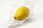 Eine Bio-Zitrone