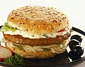 Ein Hamburger