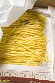 Spaghetti in packaging